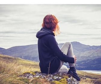 Sitting on Hill