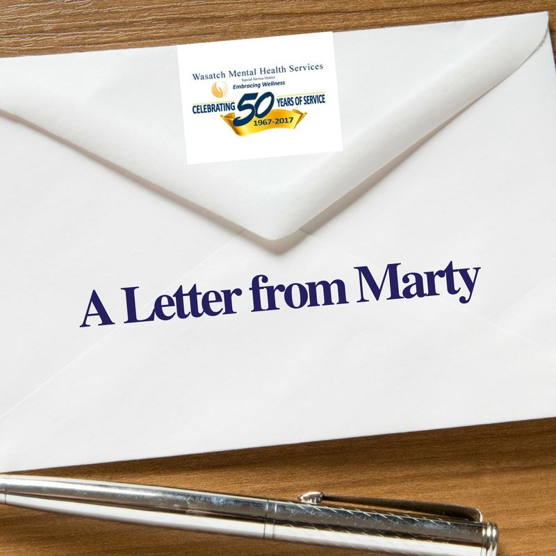 A Letter from Marty
