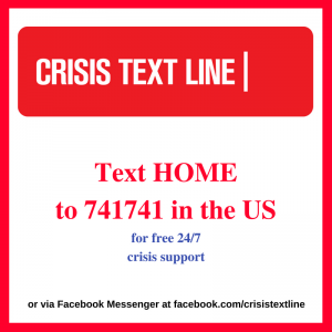 Text HOME to 741741 in the US
