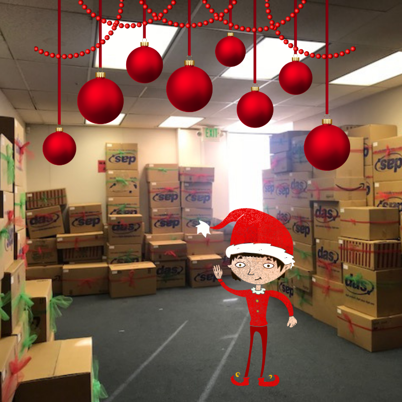 Sub for Santa boxes