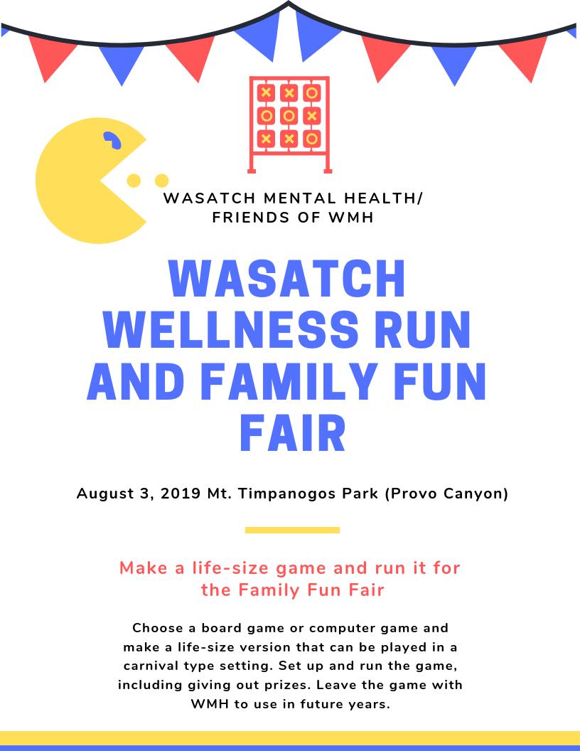 Family Fun Fair project flyer