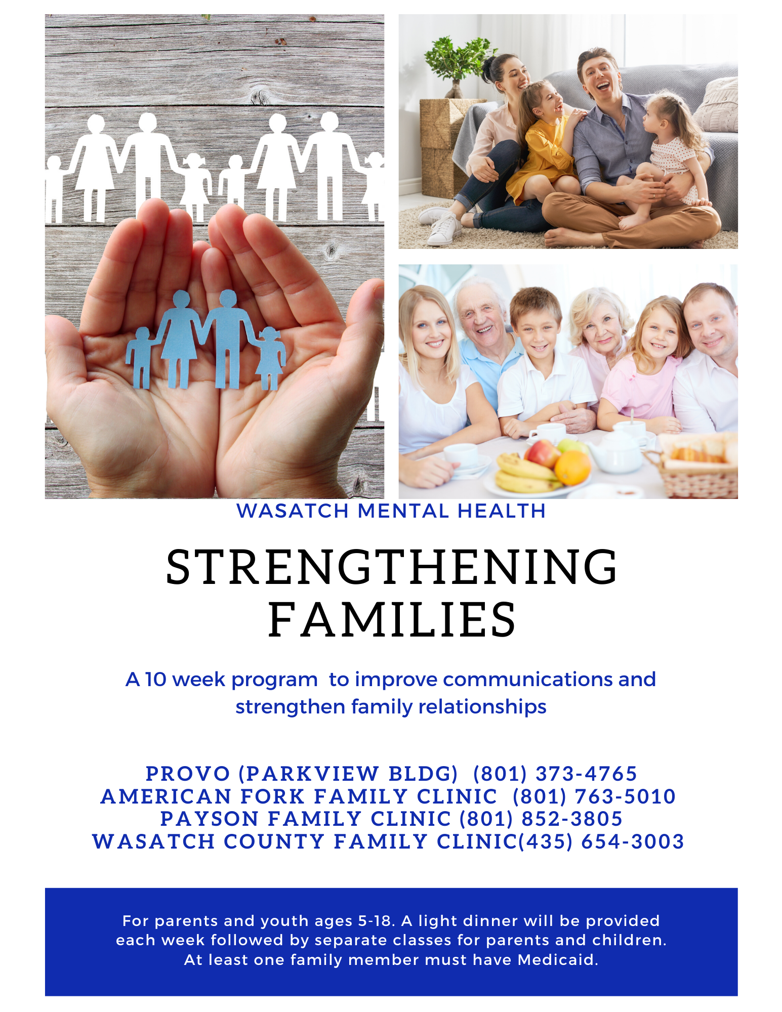 Strengthening Families Flier