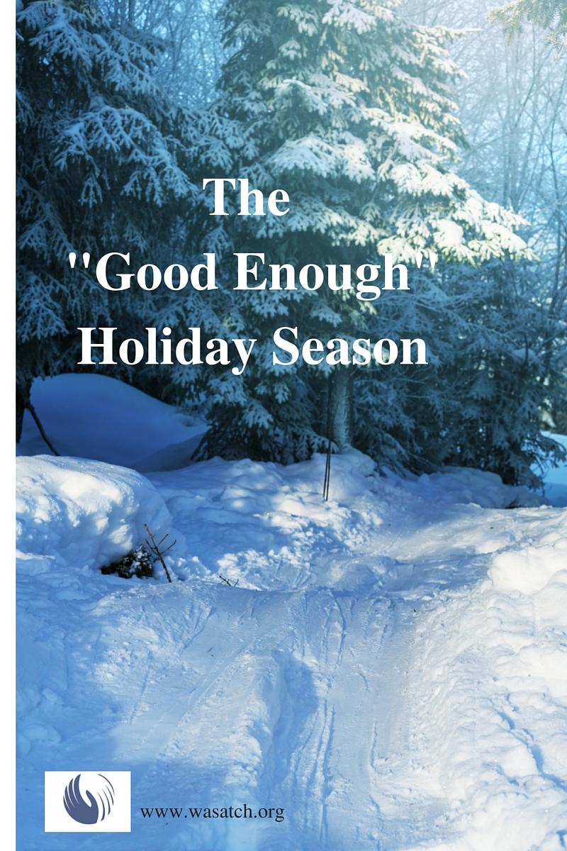 The -Good Enough-Holiday Season