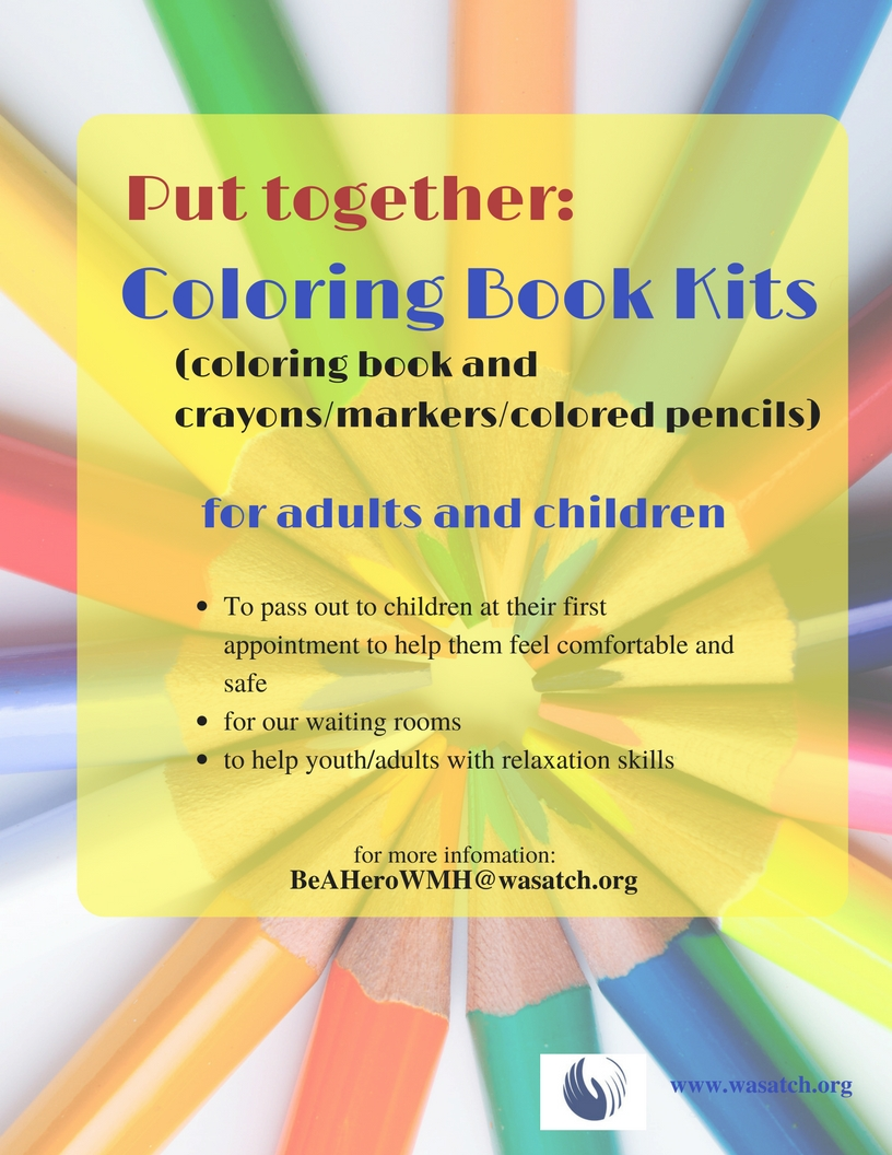 Coloring Book Kits
