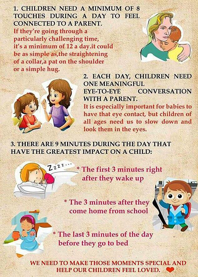 Help your child feel loved