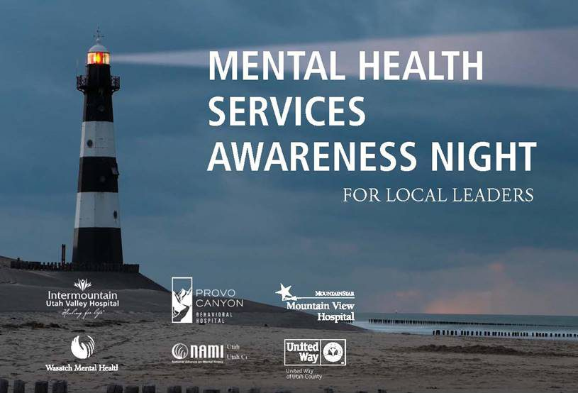 Mental Health Services Awareness Night flyer