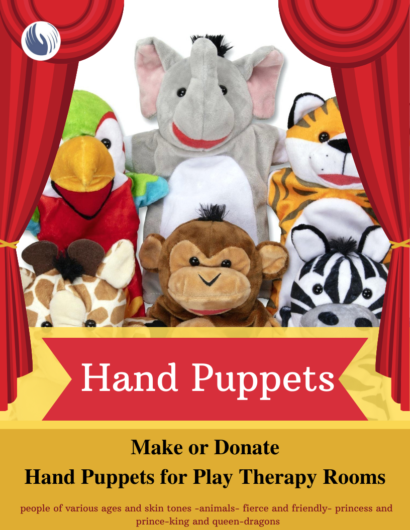 Hand Puppets flyer (service project)