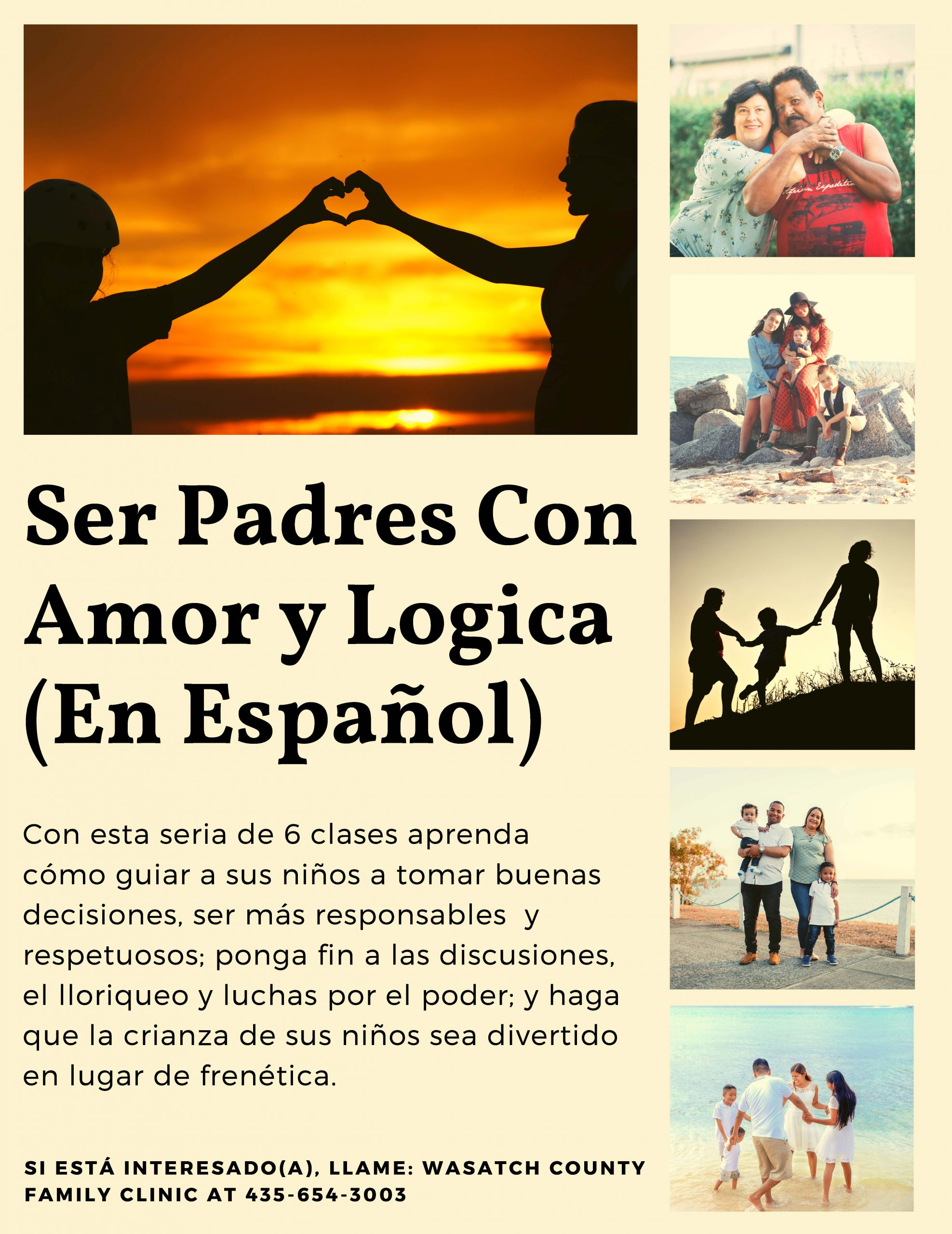 Love and Logic Flyer in Spanish