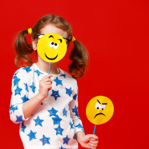 Child w/ emojis