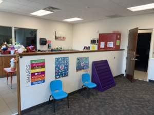 Picture of child care area