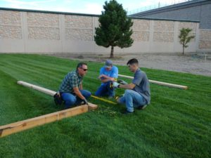 Landscaping workers image